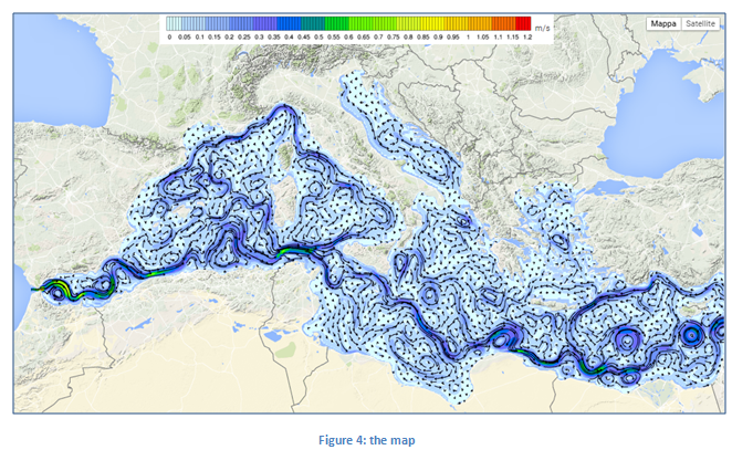 Help marinenvironment environmental quality indicators the map shows the environmental field according to the product selected in the header menu and the variable chosen in the control panel sciox Choice Image